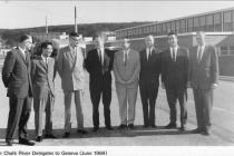 Senior Chalk River Delegates to Geneva (June 1964)