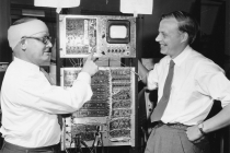 """The 100 channel """"kicksorter"""" or pulse analyzer (J. Harwick and F.S. Goulding)"""