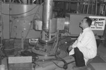 Neutron spectrometer apparatus (Dr. B.N. Brockhouse)