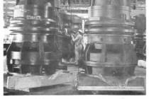 Heavy water coolant pumps