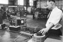 Vibration tests on fuel bundles