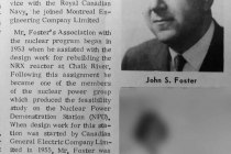 J.S. Foster appointed Vice-President, Power Projects