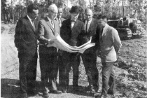 Planning construction at the Pinawa townsite
